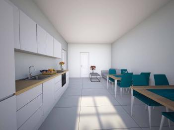 byt A kuchyň s jídelnou - Pronájem domu 296 m², Hradec Králové