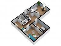 Prodej bytu 2+1 v osobním vlastnictví 64 m², Rokytnice v Orlických horách