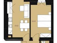 Prodej bytu 2+kk v osobním vlastnictví 46 m², Praha 7 - Bubeneč