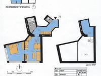 Prodej bytu 2+kk v osobním vlastnictví 55 m², Praha 10 - Michle