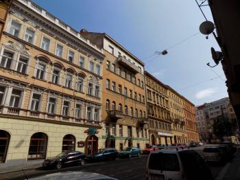Prodej pozemku 430 m², Praha 2 - Vinohrady