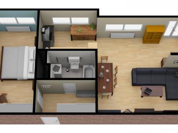Prodej bytu 2+kk v osobním vlastnictví 61 m², Praha 5 - Hlubočepy