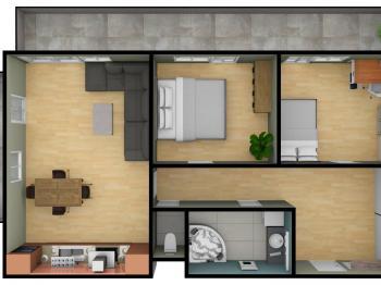 Prodej bytu 3+kk v osobním vlastnictví 85 m², Praha 8 - Dolní Chabry
