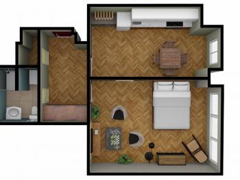 Prodej bytu 2+kk v družstevním vlastnictví 43 m², Praha 7 - Bubeneč