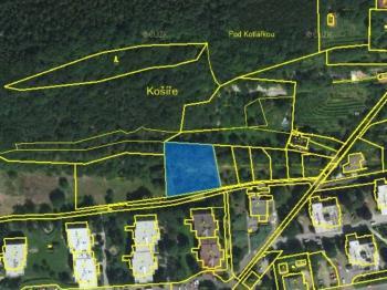 Prodej pozemku 1748 m², Praha 5 - Košíře (ID 212-N01712)