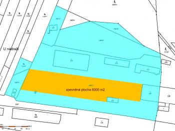 Pronájem pozemku 6000 m², Božice
