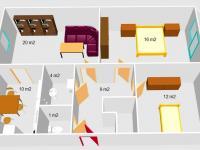 Prodej bytu 3+1 v osobním vlastnictví 77 m², Znojmo