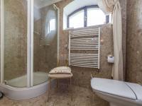 Koupelna v přízemí (Prodej domu v osobním vlastnictví 300 m², Žernov)