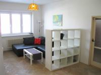 obývací pokoj, možno přepažit příčkou (Pronájem bytu 3+1 v družstevním vlastnictví 67 m², Praha 4 - Podolí)