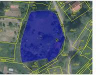 Katastrální mapa (Prodej pozemku 2019 m², Štětí)