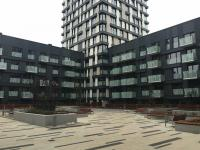 Vnitroblok komplexu (Pronájem bytu 1+kk v osobním vlastnictví 33 m², Praha 3 - Žižkov)