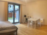 Zařízený pokoj (Pronájem bytu 1+kk v osobním vlastnictví 33 m², Praha 3 - Žižkov)