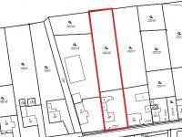 Prodej pozemku 2104 m², Tuklaty