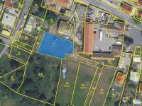 ortofoto mapa (Prodej bytu 3+kk v osobním vlastnictví 140 m², Praha 5 - Třebonice)