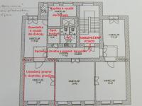 plánek - Pronájem kancelářských prostor 22 m², Praha 5 - Smíchov