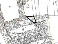 Situace - Prodej pozemku 1378 m², Vráž