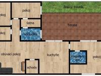 1. NP - Prodej obchodních prostor 560 m², Zlosyň