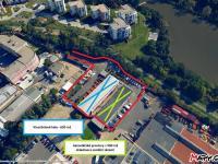 Pronájem komerčního prostoru (skladovací), 3600 m2, Praha 9 - Hloubětín