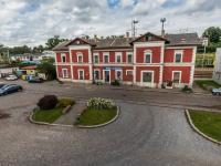 Pohled z budovy na vlakové nádraží - Prodej jiných prostor 1200 m², Příseka