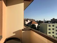 Posezení balkón, výhled centrum města (Prodej bytu 3+1 v osobním vlastnictví 75 m², Židlochovice)