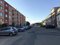 Bytový dům pohled uliční (Prodej bytu 3+1 v osobním vlastnictví 75 m², Židlochovice)