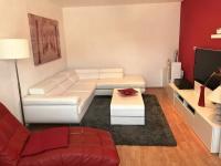 Obývací pokoj (Prodej bytu 3+1 v osobním vlastnictví 75 m², Židlochovice)