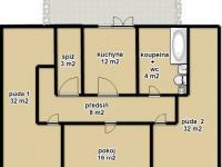 Podkroví (Prodej domu v osobním vlastnictví 348 m², Silůvky)