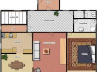 1.patro (Prodej domu v osobním vlastnictví 348 m², Silůvky)
