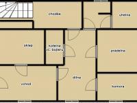 Suterén (Prodej domu v osobním vlastnictví 348 m², Silůvky)