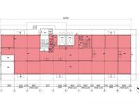 půdorys (Pronájem výrobních prostor 906 m², Zlín)