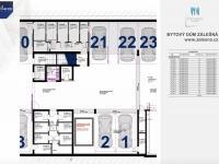 Prodej bytu 3+kk v osobním vlastnictví 70 m², Zlín
