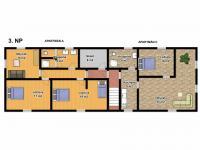 3. NP (Prodej domu v osobním vlastnictví 685 m², Kryštofovo Údolí)