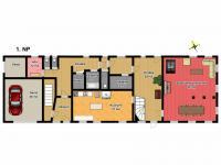 1. NP (Prodej domu v osobním vlastnictví 685 m², Kryštofovo Údolí)