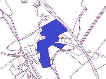 snímek z KN - Prodej pozemku 26007 m², Česká Lípa