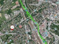 Mapa lokality (Pronájem skladovacích prostor 846 m², Liberec)