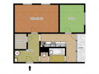 Prodej bytu 2+1 v družstevním vlastnictví 50 m², Česká Lípa
