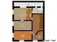 schéma patra - Prodej domu v osobním vlastnictví 250 m², Hamr na Jezeře