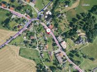 poloha domu v obci - Prodej domu v osobním vlastnictví 250 m², Mařenice