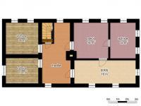 schéma patra - Prodej domu v osobním vlastnictví 250 m², Mařenice