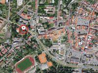 poloha budovy ve městě - Pronájem komerčního objektu 23 m², Česká Lípa