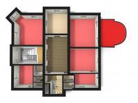 poloha kanceláře č.202 ve 2. NP - Pronájem komerčního objektu 23 m², Česká Lípa