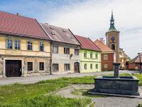 dům na náměstí (Prodej domu v osobním vlastnictví 160 m², Kravaře)