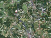 poloha Slunečné v krajině (Prodej pozemku 1454 m², Slunečná)
