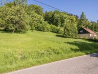 pohled na pozemek (Prodej pozemku 1454 m², Slunečná)