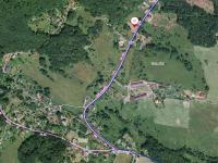 poloha pozemku v obci (Prodej pozemku 1454 m², Slunečná)