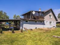 pohled na dům ze zahrady (Prodej domu v osobním vlastnictví 220 m², Mařenice)