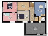 schéma patra (Prodej domu v osobním vlastnictví 220 m², Mařenice)