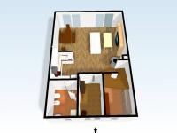3D přízemí (Prodej domu v osobním vlastnictví 110 m², Veltrusy)