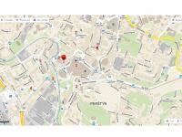 mapa - Pronájem obchodních prostor 211 m², Liberec