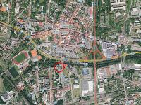 poloha ve městě (Pronájem kancelářských prostor 30 m², Česká Lípa)